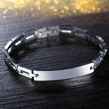 stainless steel mens bangle bracelet images Classic simple design bracelets fashion male jewelry for best jpeg