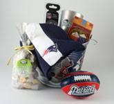new patriots premier pail gift set massachusetts bay