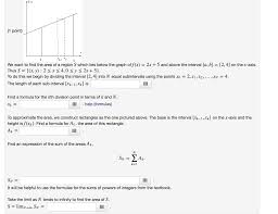 Area Formula by We Want To Find The Area Of A Region S Which Lies Chegg Com