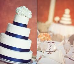 coral wedding cakes a happy navy blue coral wedding at square theater in