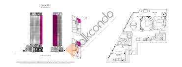 one bloor floor plans via bloor condos talkcondo