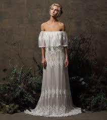 bohemian wedding dress juniper bohemian lace wedding dress dreamers and