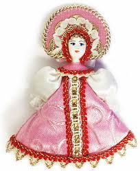porcelain doll ornament decoration pink at holy