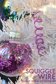 how to make wire squiggle ornaments mad in crafts