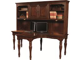Secretary Desk Hutch by Aspenhome Villager Dual T Desk With 2 Drawers And 4 Ac Outlets