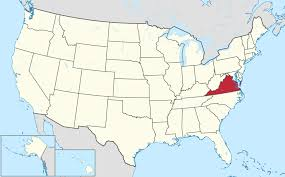 Full Map Of The United States by List Of Cities In Virginia Wikipedia