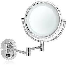 lighted vanity mirror wall mount lighted makeup mirror ebay
