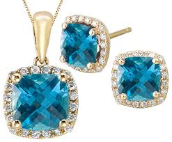 blue sapphire stone necklace images 14k gold blue sapphire jewelry earrings rings pendants jpg