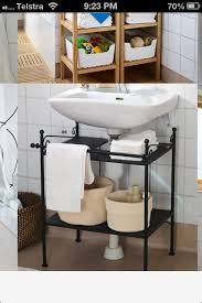 Under Bathroom Sink Storage by Easy Vanity To Hide Ugly Bathroom Pipes Ikea Bathroom
