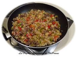 cuisiner steak hach riz à la courgette tomate et steak haché a emporter les