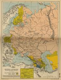 Europe Asia Map Map Of Russia In Europe 19th Century