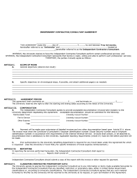 100 it consultant contract template canada software