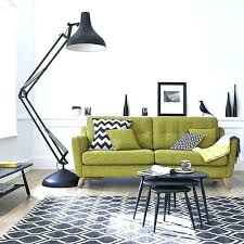 Green Sofa Living Room Living Room With Green Sofa Living Room With Wall Sconces And