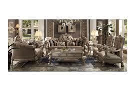 sofa dresden dresden 2pcs bone velvet gold patina sofa set