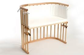 Baby Crib Next To Bed Bedside Baby Bed White Bed