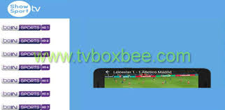 show apk install show sport tv app on android box best live sports apk
