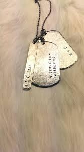 customized dog tag necklace 16 best custom dog tags images on