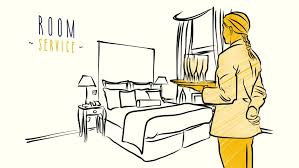 hotel room hand drawn sketched animation drawing sequence
