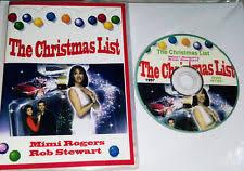 christmas list dvd mimi rogers dvd dvds discs ebay