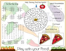 kids placemats southern play with your food printable kids placemat