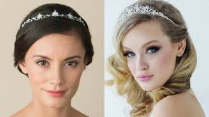 wedding tiara how to wear a wedding tiara