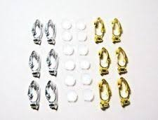 clip on earring converter clip on earring cushions ebay