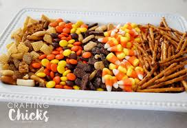 Thanksgiving Trail Mix Waffle Cone Cornucopia The Crafting