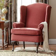 Three Posts Palmdale Wingback Chair  Reviews Wayfair - Wing chairs for living room