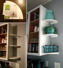 kitchen cabinet with shelves 20 genius ideas for using wasted space on kitchen ends of