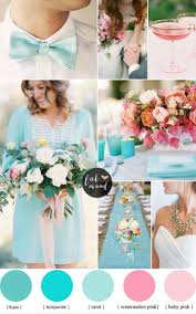 and turquoise wedding ideas cheerful duo