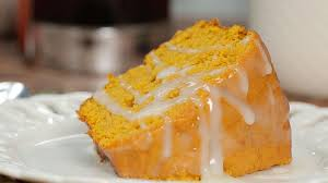 pumpkin pound cake with buttermilk glaze southern living