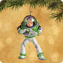 buzz lightyear ornament decore