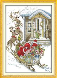 compare prices on free christmas cross stitch patterns to print