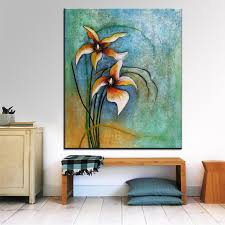 aliexpress com buy best print no 282 flower wall painting