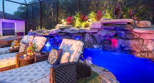 Backyard Pool With Lazy River by Images Tagged