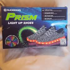 boys size 3 light up shoes prism other nwot boys size 3 light up shoes poshmark