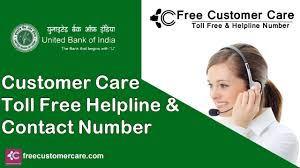 United Contact United Bank Of India Customer Care Number Toll Free Helpline
