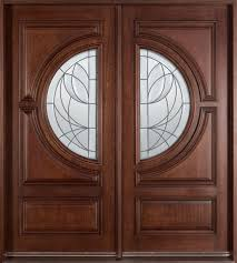 Exterior Solid Wood Doors by Wooden Doors With Glass Examples Ideas U0026 Pictures Megarct Com