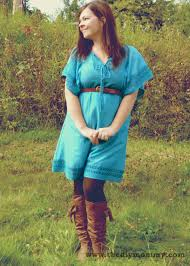 wear a summer dress with tights u0026 boots for fall u2013 petite curvy