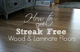 how to get streak free wood and laminate floors what knows