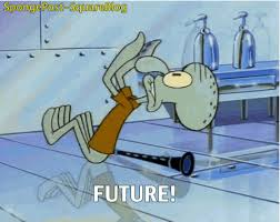 spongebob squarepants squidward future animated gif popkey