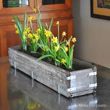 10 adorable diy planter box ideas