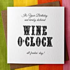 wine birthday cards funny winclab info