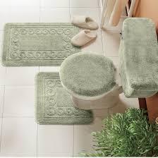 Bathroom Rugs Sets 5 Piece Bath Rug Set Bathrooms Cabinets