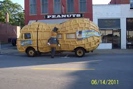 Planters Peanuts Commercial by Suffolk Virginia Peanut Mobile In Front Of Planters Peanut Store