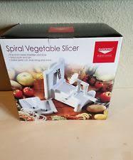 paderno cuisine spiral vegetable slicer cuisine spiral slicer ebay