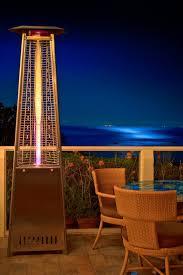 mirage heat focusing patio heater outdoor heating lamp lamps inspire ideas