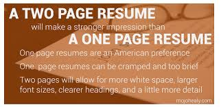 Two Page Resume Header Nuggets Archives Mojohealy Learning Careers