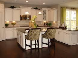 white kitchen cabinets with glass doors dark brown laminated