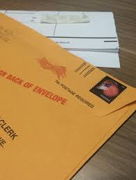 How To Fold Envelope Some Saginaw Voters May Need To Re Fold Their Absentee Ballots